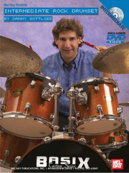 Gottlieb, Danny - Intermediate Rock Drumset - DVD