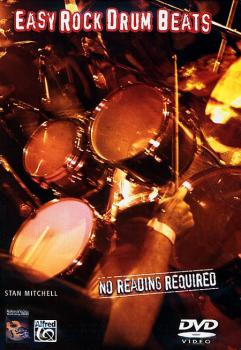 Mitchell, Stan - No Reading Required - Easy Rock Drum Beats - DVD