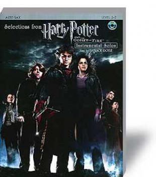 Potter, Harry - And The Goblet Of Fire - A-Sax mit  CD