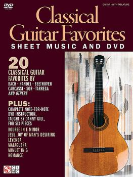 Gill, Danny - Guitar Legendary Licks: Classical Guitar Favourites - Book/DVD