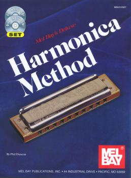 Duncan, Phil - Deluxe Harmonica Method mit CD & DVD