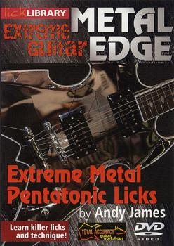 James, Andy - Lick Library DVD - Metal Edge - Extreme Metal Pentatonic Licks