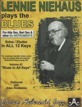 Niehaus, Lennie - Lennie Niehaus Plays The Blues mit CD - EB-Instrumente