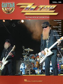 ZZ Top - Guitar Play-Along Vol. 99 mit CD