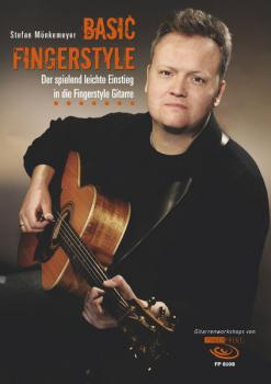 Mönkemeyer, Stefan - Basic Fingerstyle - Book mit DVD
