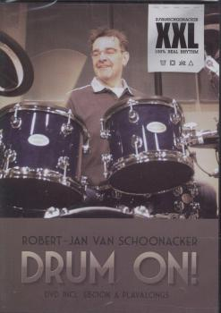 van Schoonacker, Robert-Jan - Drum On - DVD mit Playalongs