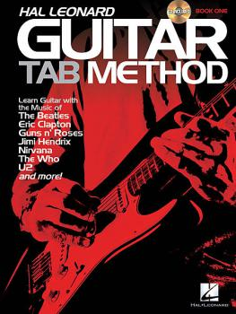 Schroedl, Jeff - Hal Leonard Guitar Tab Method mit CD