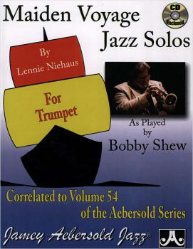 Shew, Bobby - Maiden Voyage Jazz Solos For Trumpet mit CD