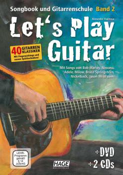 Espinosa, Alexander - Let's Play Guitar mit 2 CDs und DVD . Volume 2