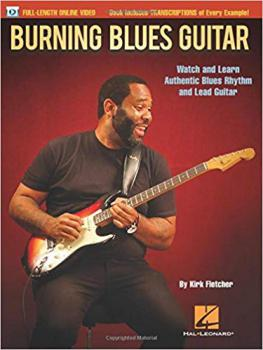 Fletcher, Kirk - Burning Blues Guitar - Book mit Video-Online
