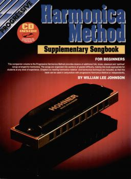 Johnson, William Lee - Harmonica Method  mit CD