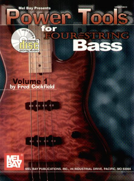 Cockfield, Fred - Power Tools For Four-String Bass mit CD
