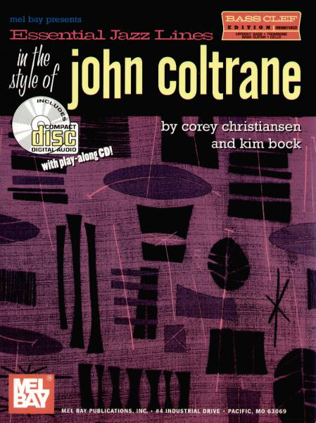 Coltrane, John - Essential Jazz Lines John Coltrane mit CD - Bass-Instr.