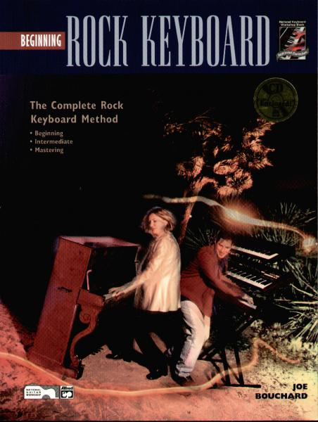 Bouchard, John - Beginning Rock Keyboard mit CD