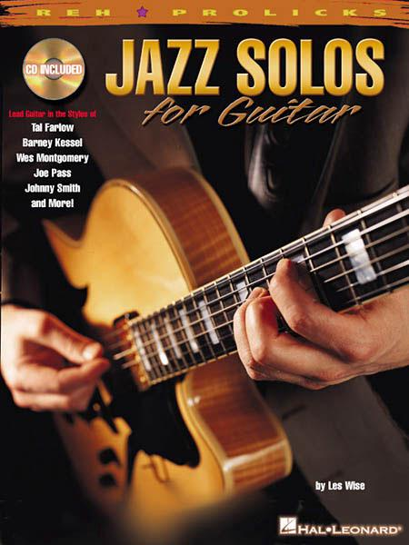 Wise, Les - Jazz Solos For Guitar mit CD