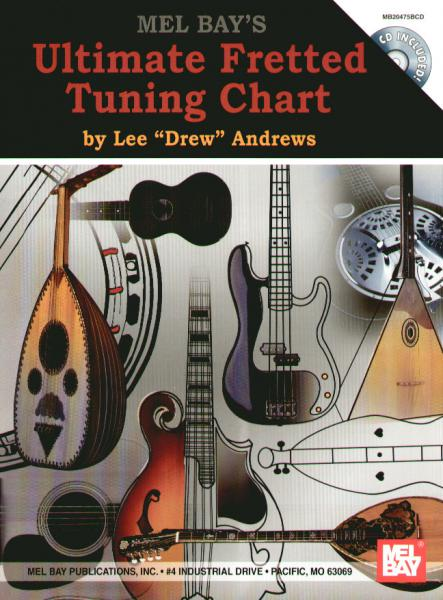 Andrews, Lee - Ultimate Fretted Tuning Chart mit CD