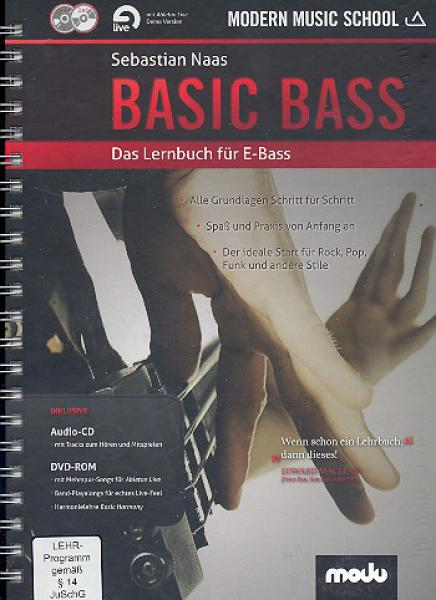 Naas, Sebastian - Basic Bass mit CD & DVD-ROM
